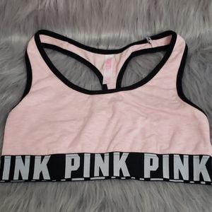 Small Pink sports bra